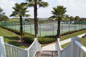 Tennis courts at Southern Dunes complex